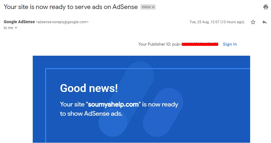 Adsense Ready